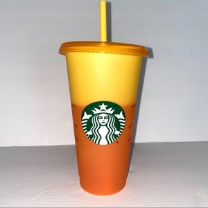 1 Starbucks Color Changing Cup Marigold yellow